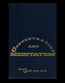 Concentration Meditation Hardbound Book