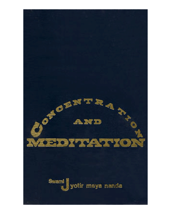 Concentration Meditation Hardbound Book