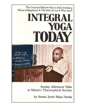 Integral Yoga Today book