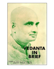 vedanta in brief book