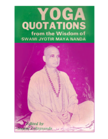 Yoga Quotations Book by Swami Jyotirmayananda