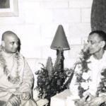Swami Jyotirmayananda with Swami Chidananda