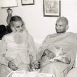 Swami Jyotirmayananda & Swami Satchidananda - Sivananda