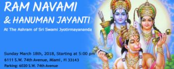 Ram Navami & Hanuman Jayanti Festivity 2018